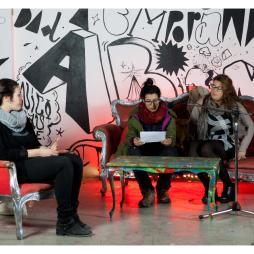 dibattito L' insostenibile leggerezza del pensiero dominante, con Donne in Cantiere, Repubblica Viareggina, Communia e Collettivo DadaBoom 5