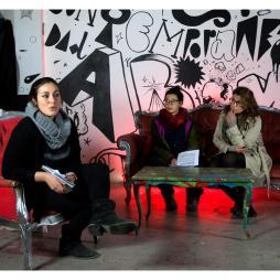 dibattito L' insostenibile leggerezza del pensiero dominante, con Donne in Cantiere, Repubblica Viareggina, Communia e Collettivo DadaBoom